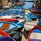 Fishing Boats at the Cinque Terre in Italy