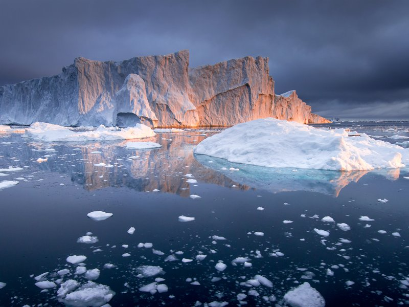Jakobshavn Melt- was captured within the Kanjia Fjord, Greenland while on expedition to visually document of one of the largest calving events of 2016. 